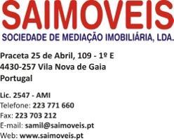 logótipo da Saimóveis - Soc. Mediação Imobiliária, Lda.